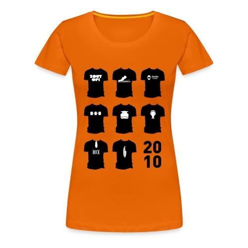 Shirt van 2010 - Vrouwen Premium T-shirt