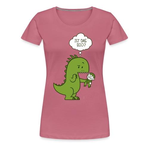 Bio-Dinosaurier - Frauen Premium T-Shirt