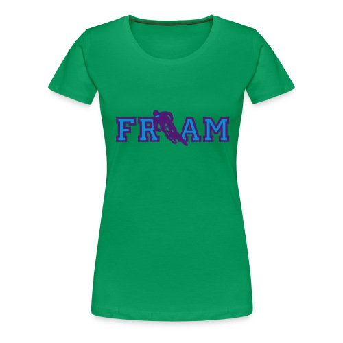 fram anlieger 2color - Frauen Premium T-Shirt