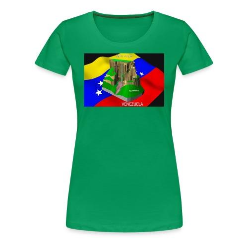 Salto Angel 3D - Camiseta premium mujer