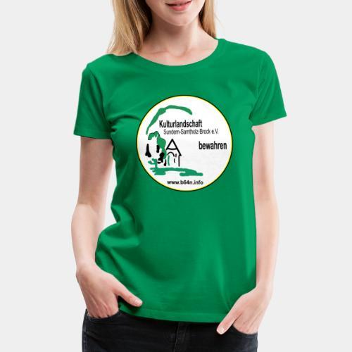 Kulturlandschaft mit B64n nein beidseitig Bedruckt - Frauen Premium T-Shirt