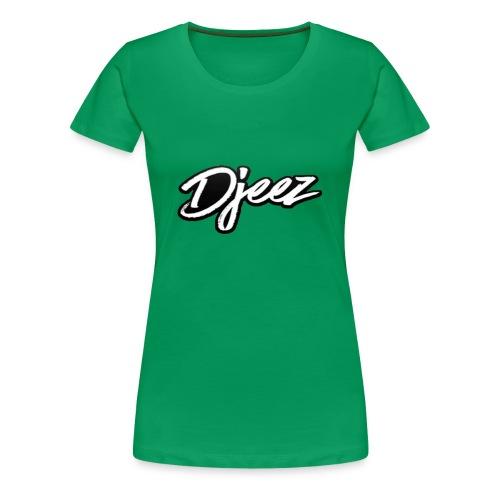 Djeez Merchandise - Vrouwen Premium T-shirt