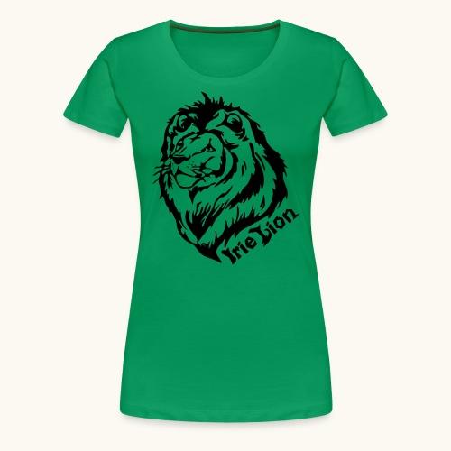 Irie Lion - Lion Rastafari - T-shirt Premium Femme