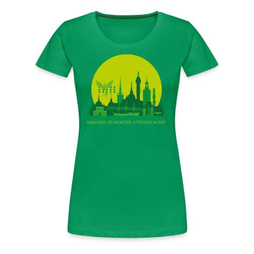 13MAGNUS STOCKHOLM GLOBE - Women's Premium T-Shirt