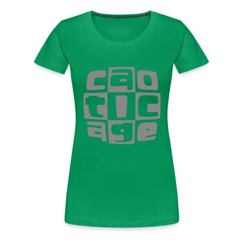 caoticagelogo - Maglietta Premium da donna