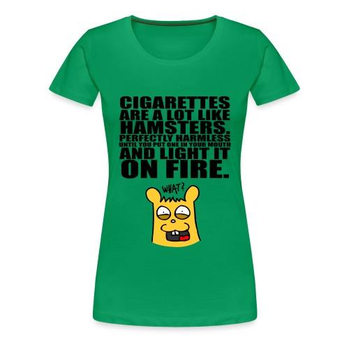 hamsters - Frauen Premium T-Shirt