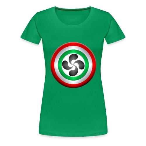 LAUBURU EUSKADI - Camiseta premium mujer