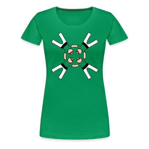 Casteller 4 Poañuelo - Vrouwen Premium T-shirt