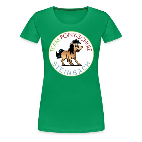 TeamPonySchule Steinbach png - Frauen Premium T-Shirt