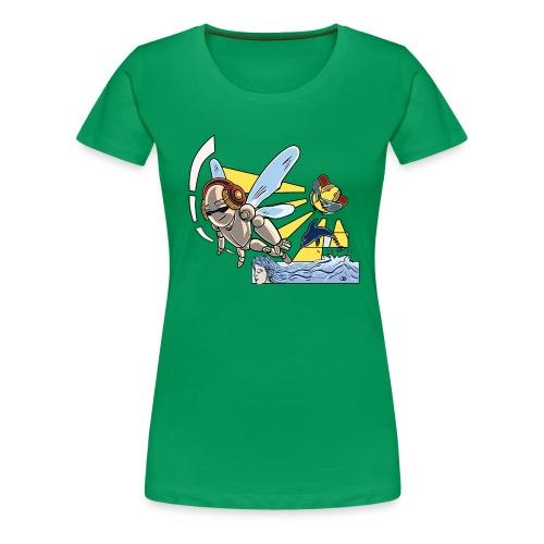 Sunshine buzz - Vrouwen Premium T-shirt