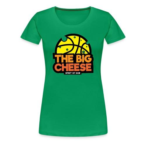 The Big Cheese Logo - Women's Premium T-Shirt