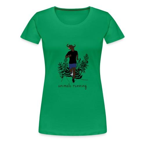 Buffle running - T-shirt Premium Femme