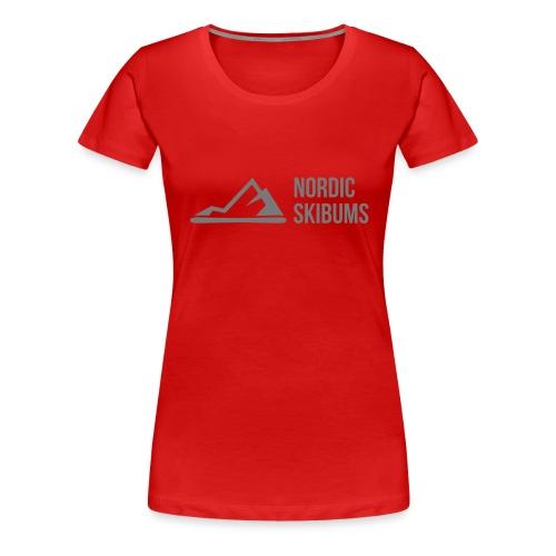 Nordic skibums partner - Women's Premium T-Shirt