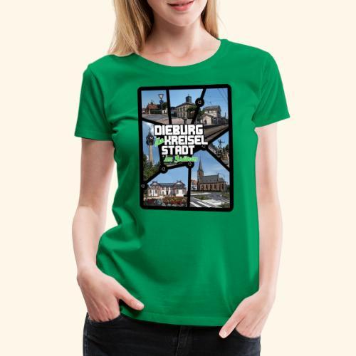 Dieburg die KREISELSTADT im Grünen - Frauen Premium T-Shirt