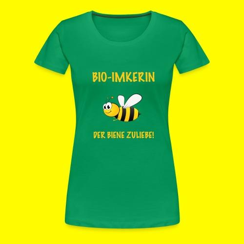 Bio Imkerin - Frauen Premium T-Shirt