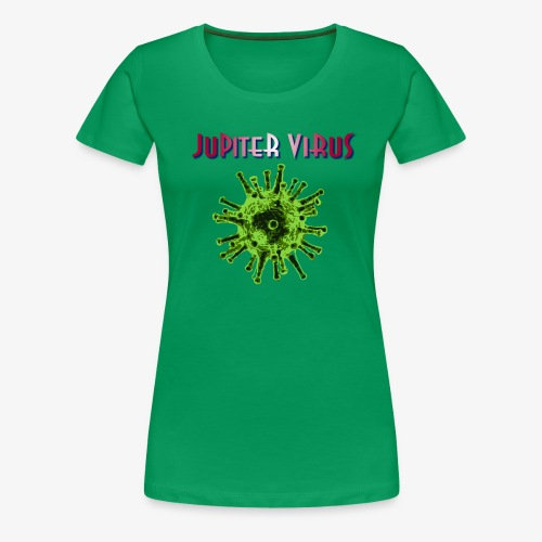 Jupiter Virus Logo - Premium-T-shirt dam