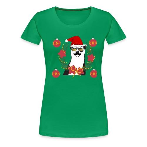 Ours de noël - T-shirt Premium Femme