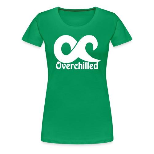 overchilledlogo - Frauen Premium T-Shirt