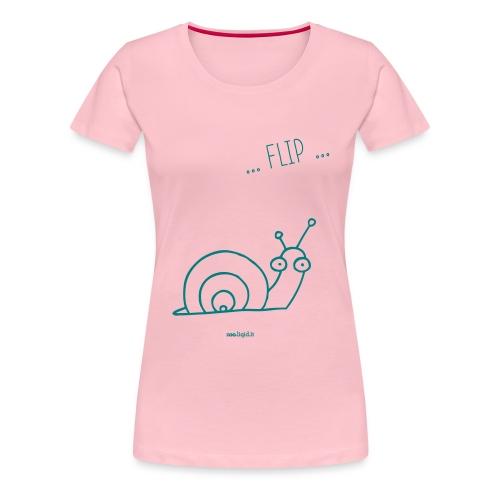 lumaca - Maglietta Premium da donna