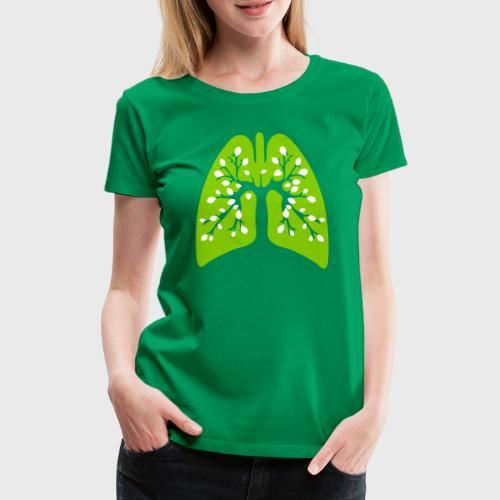 Poumon vert - T-shirt Premium Femme