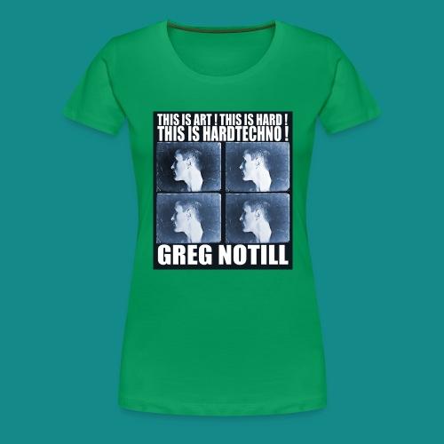 gregnotillbestteeshirtblue - Women's Premium T-Shirt