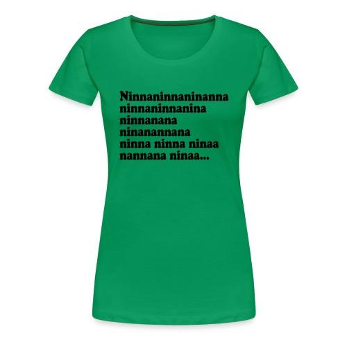 BOKTIPSET - Premium-T-shirt dam