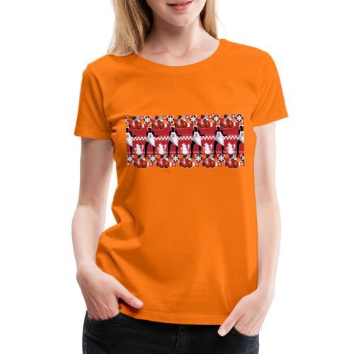 Motif Noël J'ai les boules (sans texte) - T-shirt Premium Femme