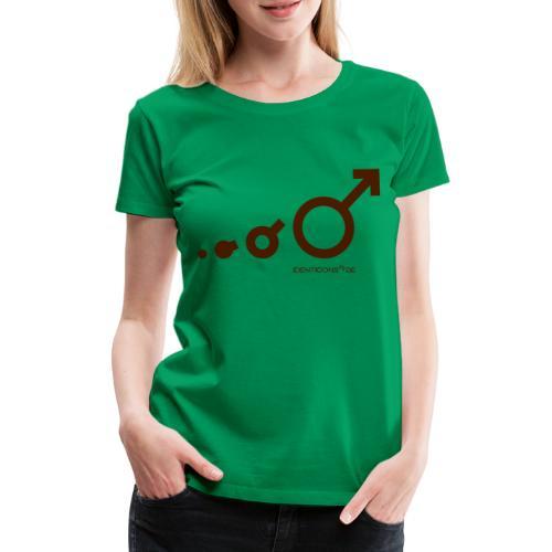 IDENTICONS Darwin mit - Frauen Premium T-Shirt
