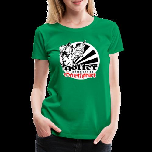 GÖTTERDÄMMERUNG - Frauen Premium T-Shirt