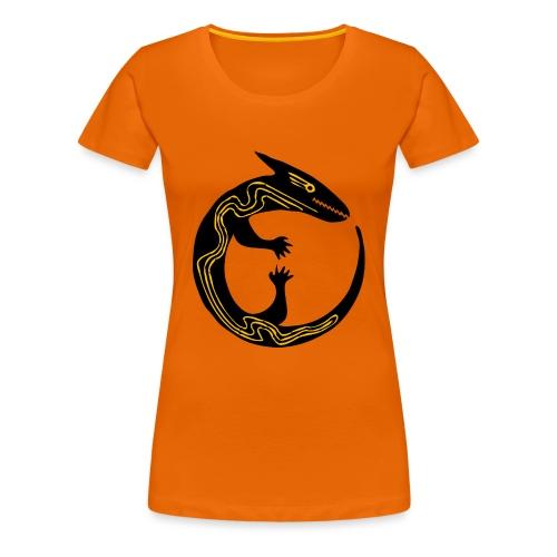 lizard - Maglietta Premium da donna