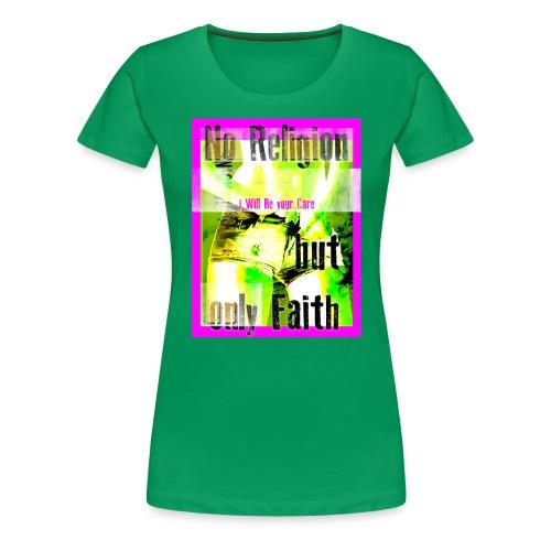 noreligion - Maglietta Premium da donna