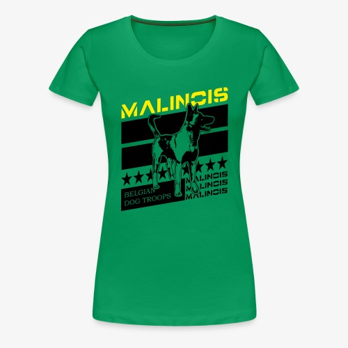 Malinois - Belgian Dog Troops - Frauen Premium T-Shirt