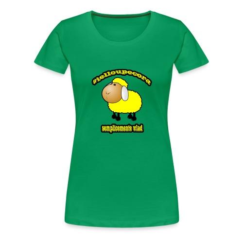 #ielloupecora - Maglietta Premium da donna