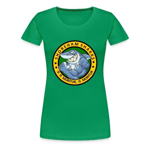 Shoreham Sharks - Women's Premium T-Shirt