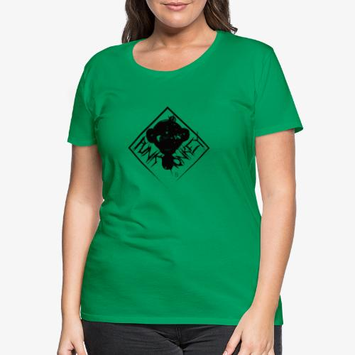 Punk Monkey - T-shirt Premium Femme