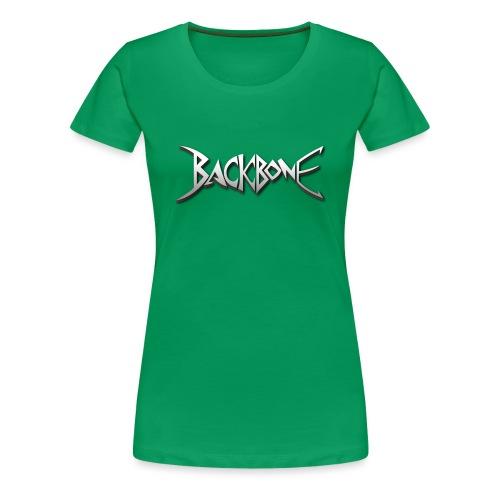 Backbone Logo - Vrouwen Premium T-shirt