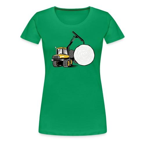 Kuormatraktori t paidat, hupparit, lahjatuotteet - Naisten premium t-paita