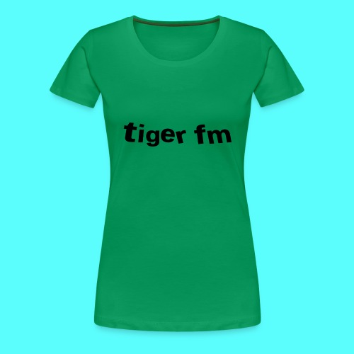 tiger fm logo - Frauen Premium T-Shirt