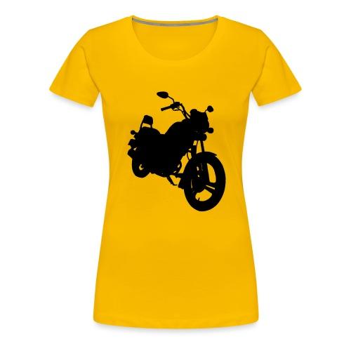 Daelim VS, Silhouette von vorne rechts - Frauen Premium T-Shirt