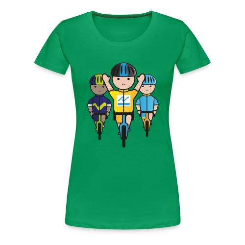 Mini-Racers-Finish - Women's Premium T-Shirt