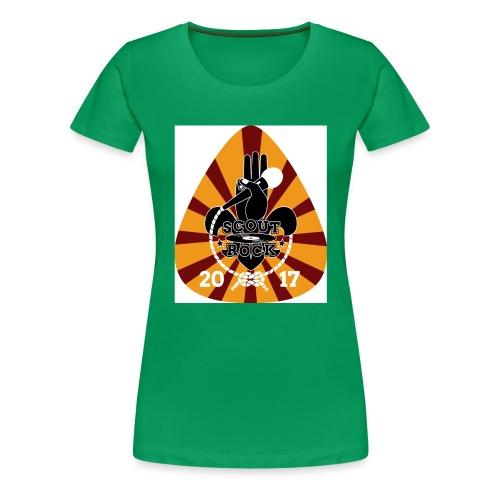 Logo Test ScoutRock - Frauen Premium T-Shirt