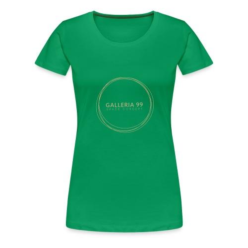 GALLERIA99 - Maglietta Premium da donna
