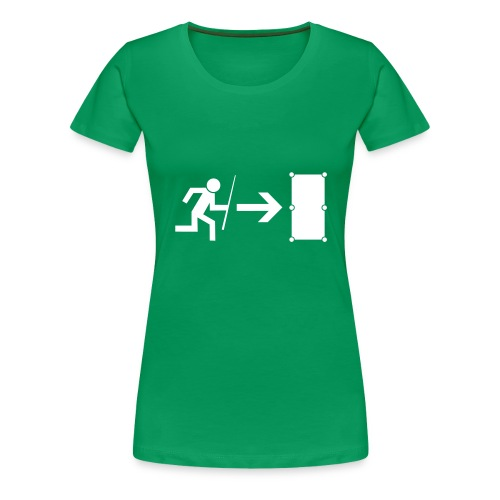 Emergency Exit Billard - Frauen Premium T-Shirt