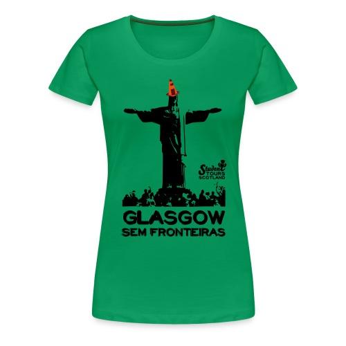 Glasgow Without Borders Brazil Rio de Janeiro - Women's Premium T-Shirt