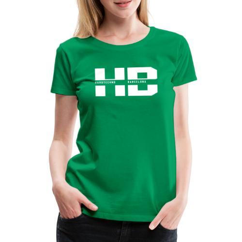 HB 2021BLANCO - Camiseta premium mujer
