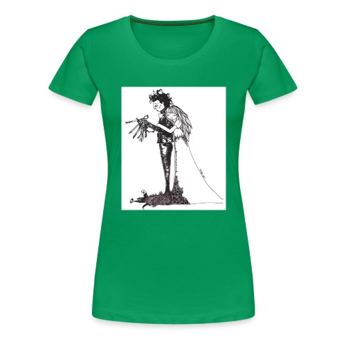 EdwardScissorhands.jpg - Women's Premium T-Shirt