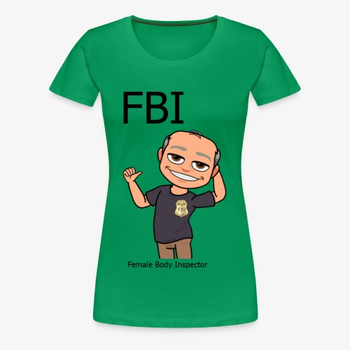 Female Body Inspector - Frauen Premium T-Shirt