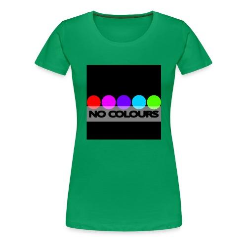 no_colours_20 - Camiseta premium mujer