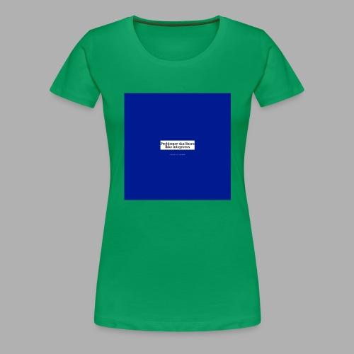 problemer - Dame premium T-shirt