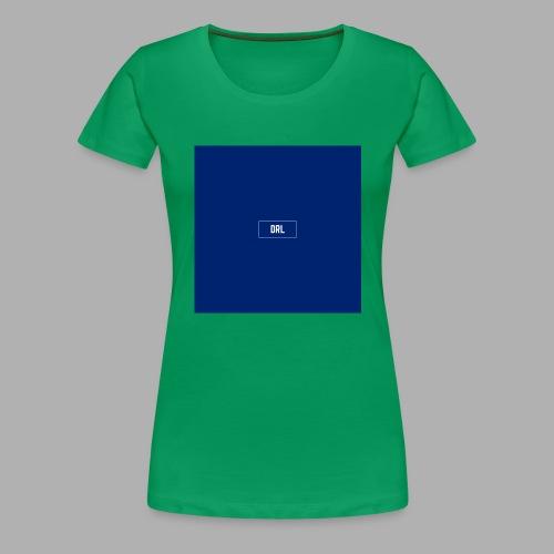 Den rigtige løsning box - Dame premium T-shirt